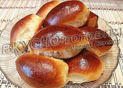 пирожки с вишней рецепт фото