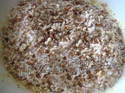 Сметанное печенье с орехами - шаг 4