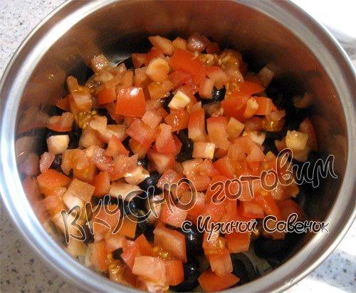 Салат Фета с манго - шаг 5